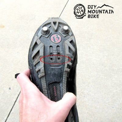 2 Hole MTB Shoes