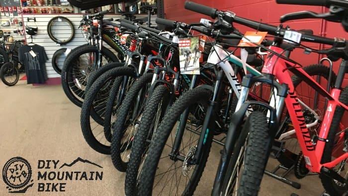 Test Ride Mountain Bike