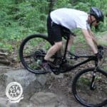 full suspension mountain bike weight