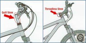 Handle bar stem type