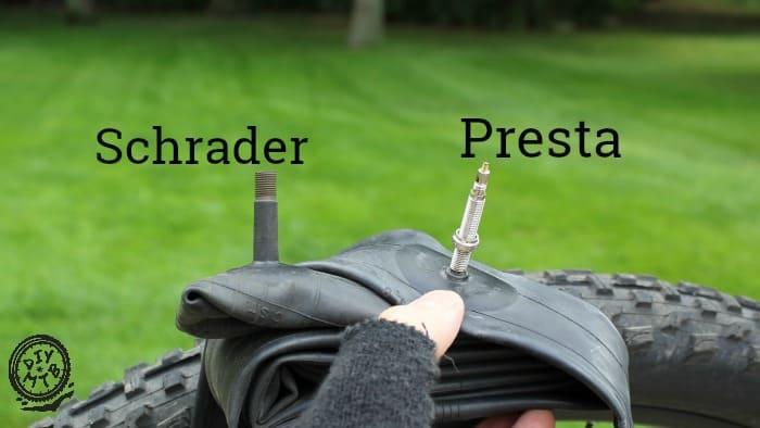 Presta vs Schrader Valve