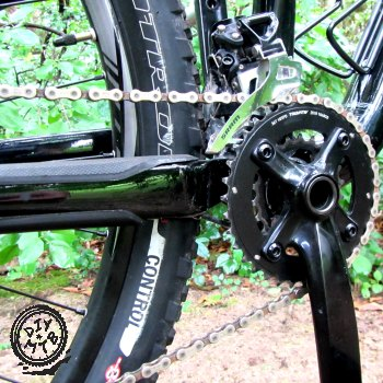 components on mountain bike