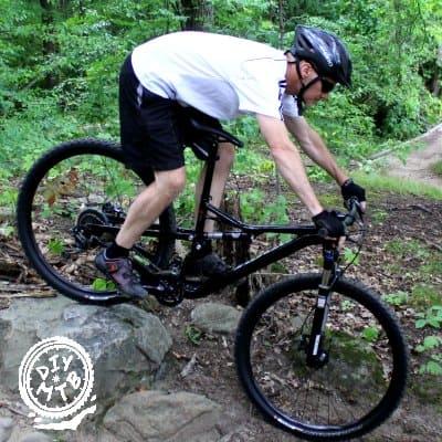 full suspension mountain bike for bad back