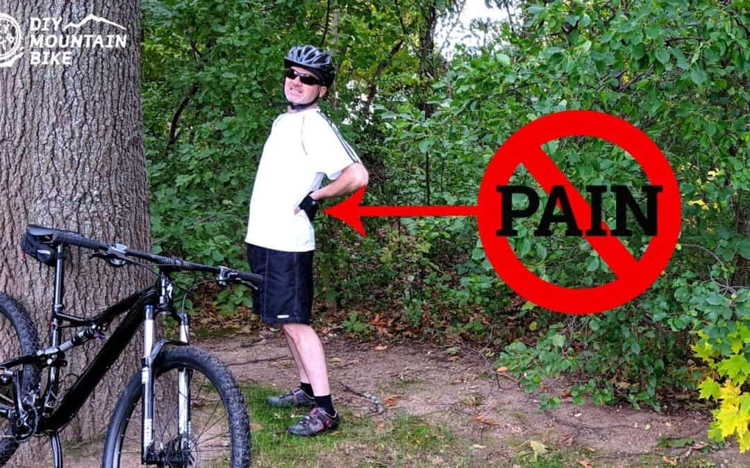 mountain bike back pain