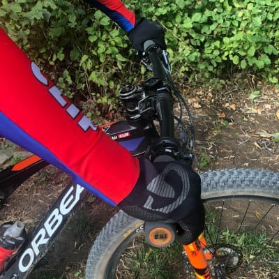 tips for warm hands mountain biking