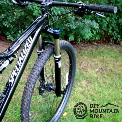 Mountain Bike Tires on Road