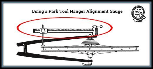 Park Tool Hanger Alignment Gauge