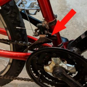 adjust front mongoose shifter