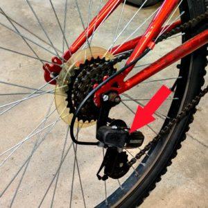 adjust rear mongoose shifter