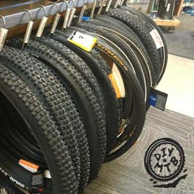MTB Tires for Trainer