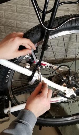 Install Cargo Rack on Bike