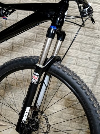 Lockout Fork on Mountain Bike