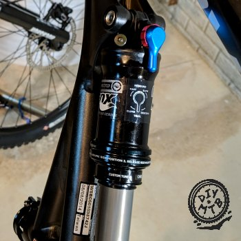 Rebound on Shock of MTB