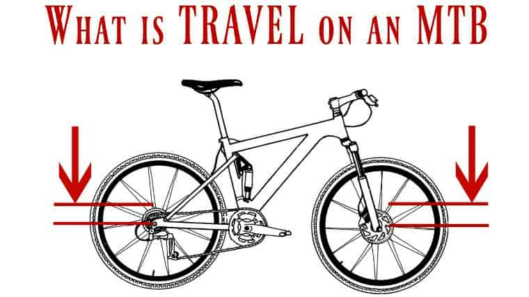 what is travel on a Mountain Bike