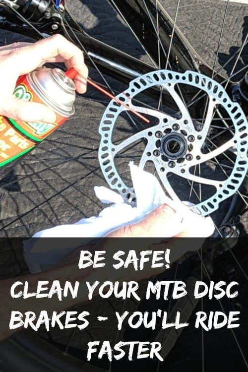 clean mtb disc brakes