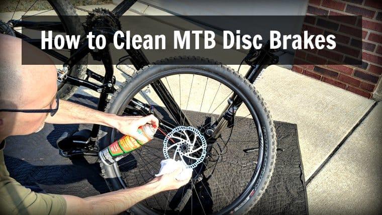 how to clean mtb disc brakes