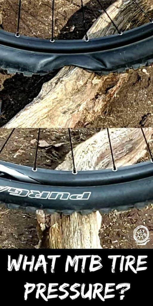what tire pressure in mountain bike tire