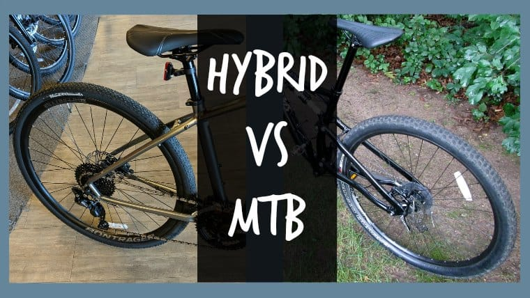 Difference Hybrid vs Mountain Bike