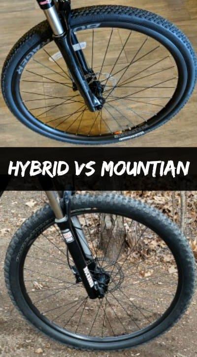 Hybrid vs Mountain Bikes