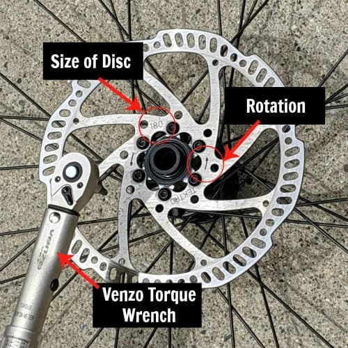 6 bolt disc brakes for MTB