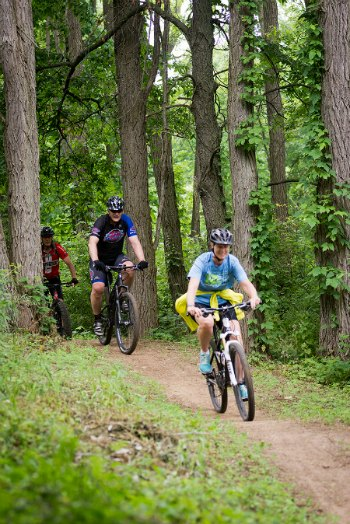 DTE Foundation Trail  for MTBing