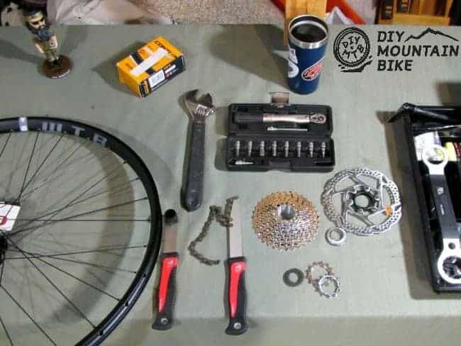 Tools to Assemble an MTB Wheel