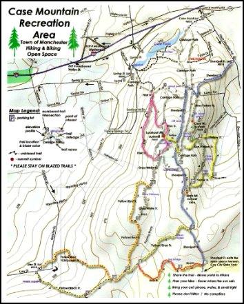 Case Mountain Recreation Area MTB Trails