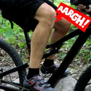 Knee Pain Mountain Biking