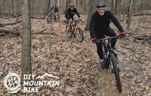 Setting a Pace Mountain Biking