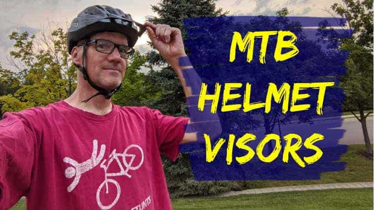 Why Visors on Mountain Bike Helmets