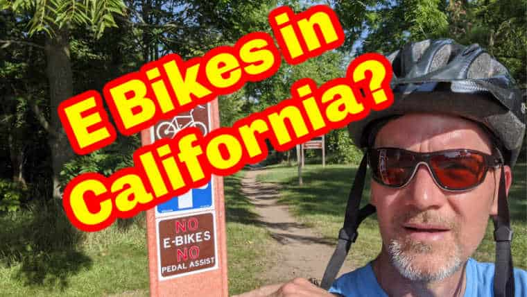 E Bikes in California
