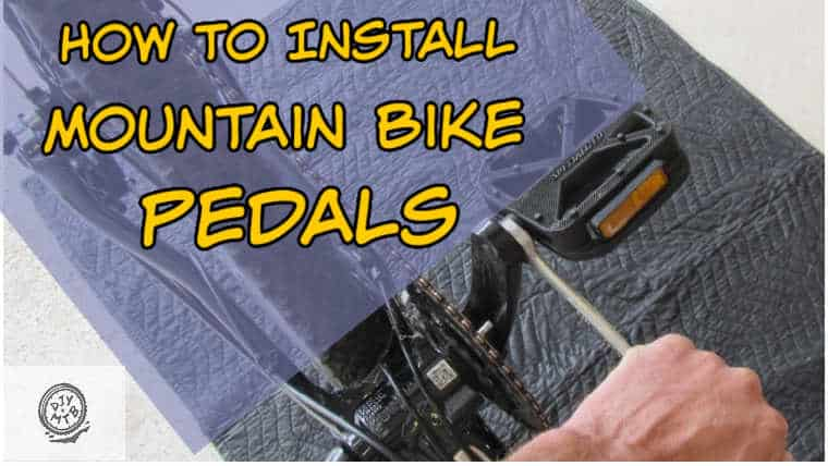 Install Mountain Bike Pedals