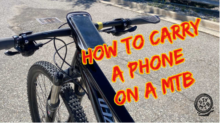 Carry Phone Mountain Biking