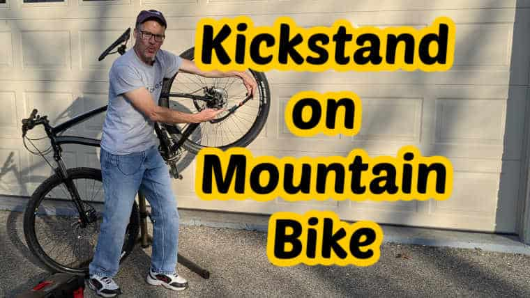 Install Kickstand on a Mountain Bike