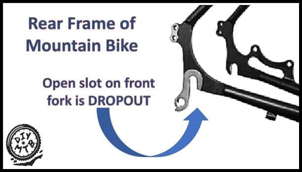 Rear Bike Frame Dropout
