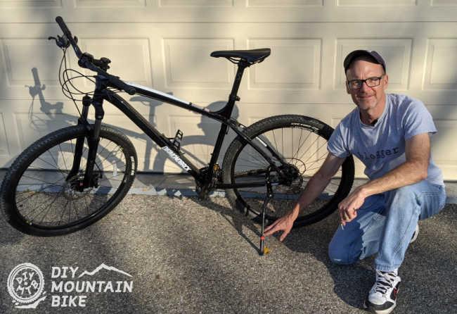 Mountain Bike with Kickstand