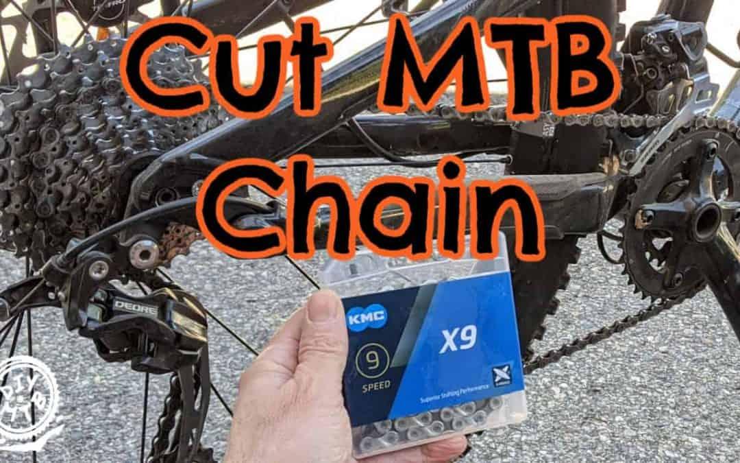 Cut Mountain Bike Chain
