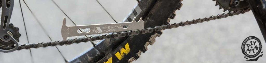 Measure Mountain Bike Chain