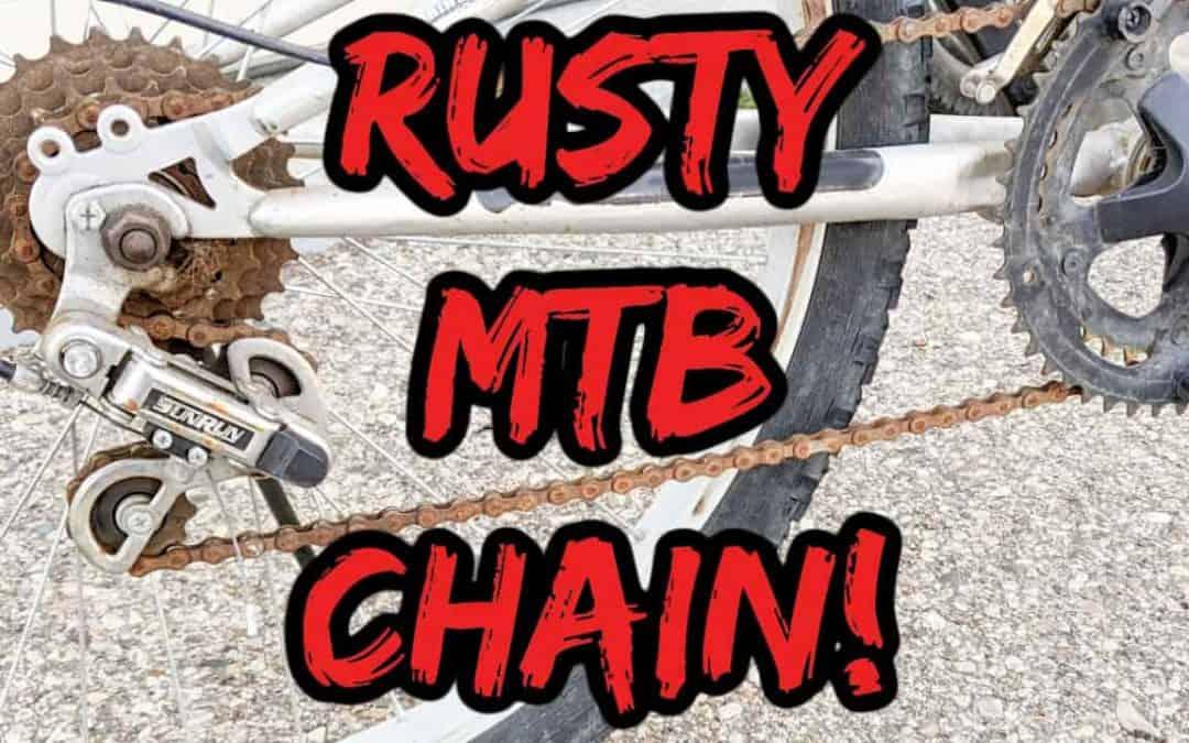 Remove Rust from Bike Chain