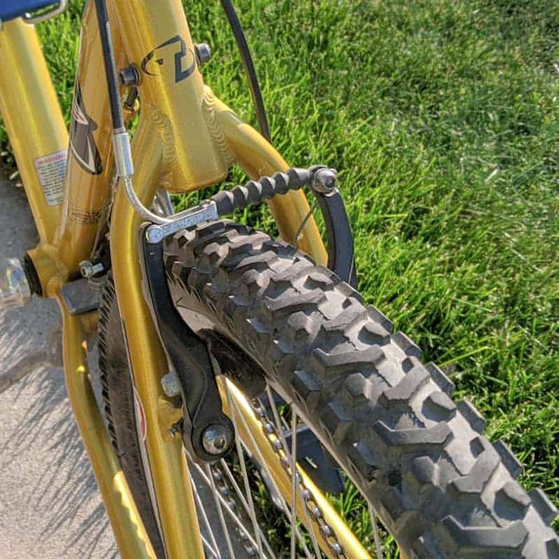 Rim Brakes on a Mountain Bike