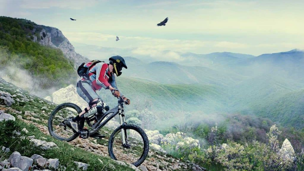 Downhill MTB Helmet