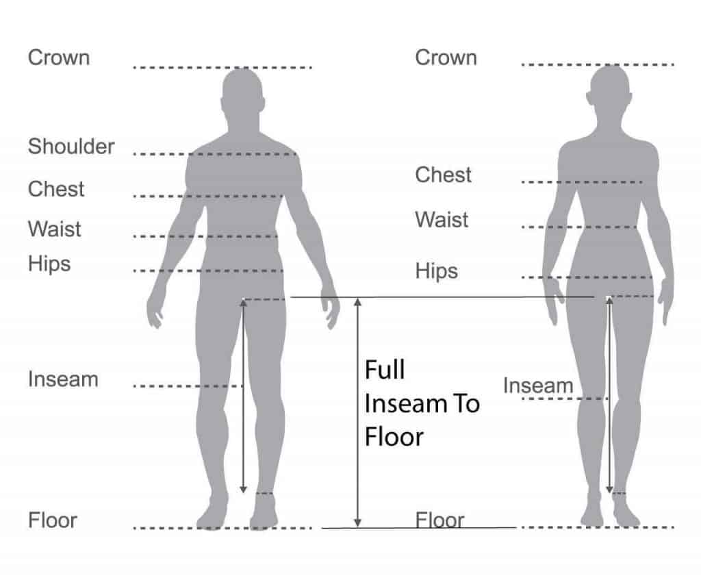 Measurements for Mountain Bike Fit