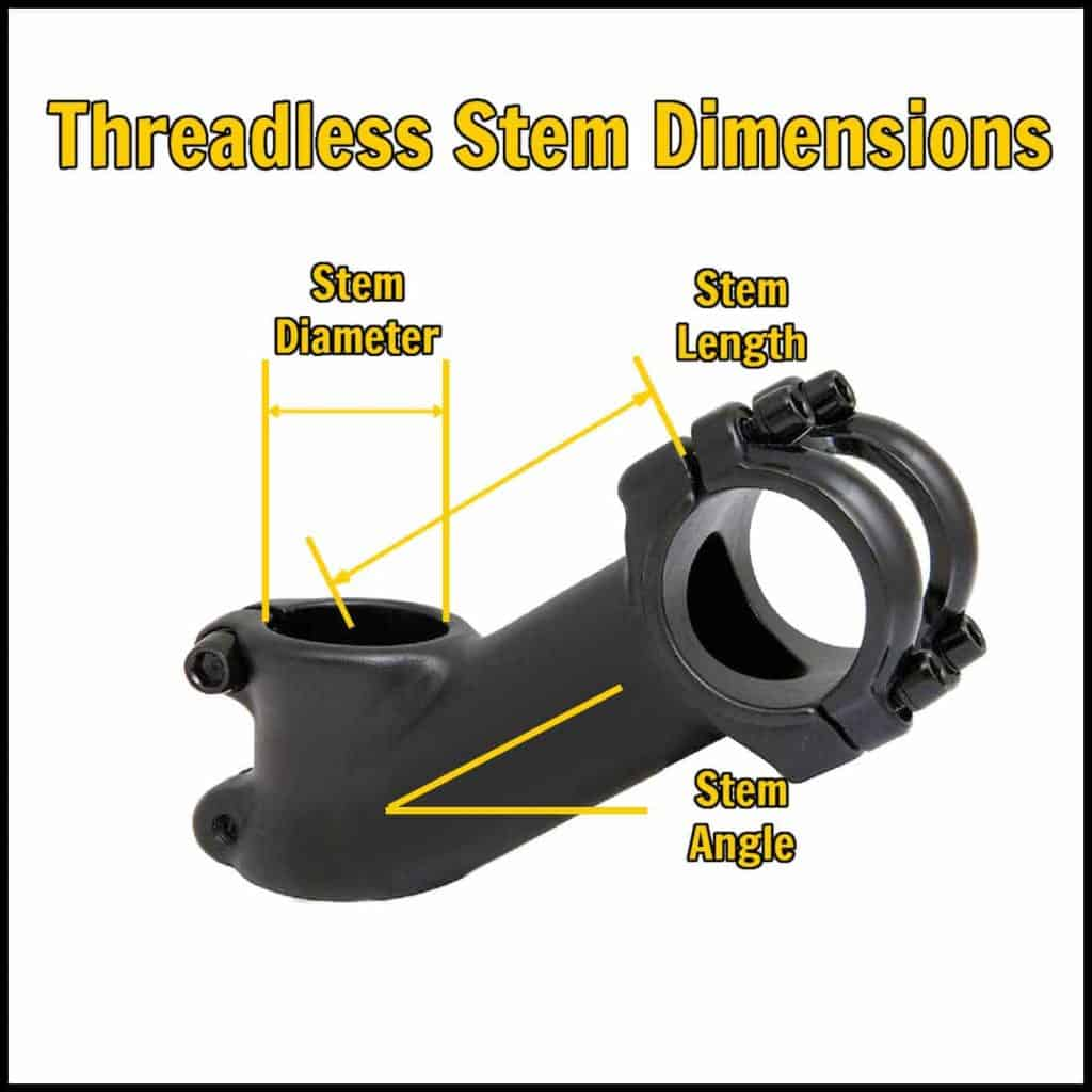 Threadless Stem Dimensions