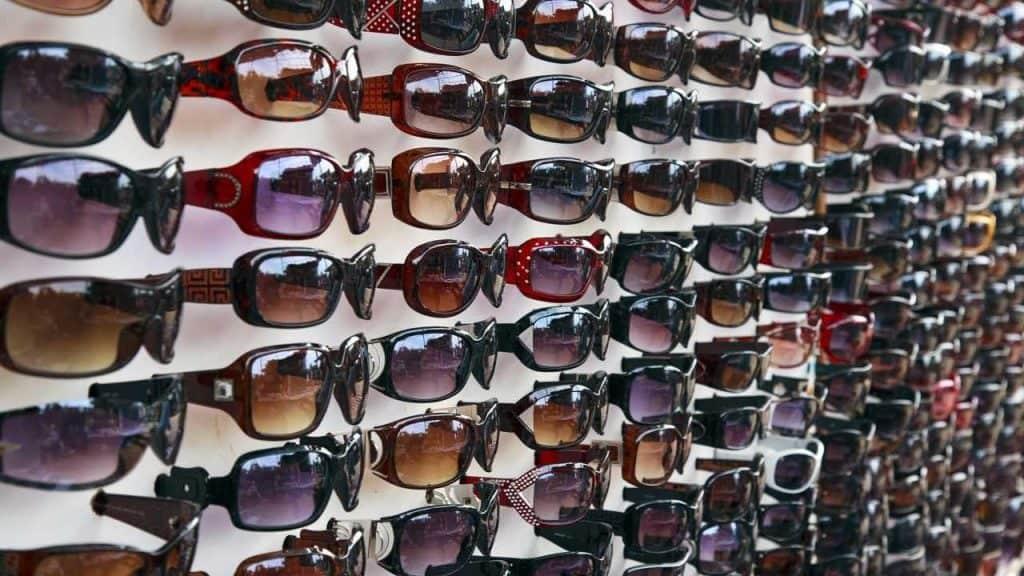 sunglasses used for mountain biking